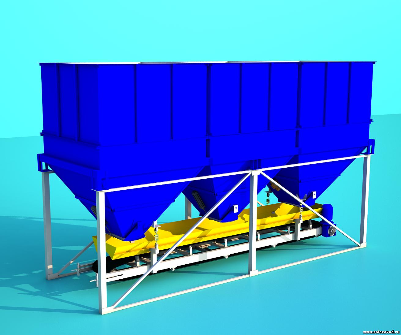 Дозатор для инертных материалов